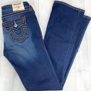 True Religion Big T Jeans Bootcut w Flap Eclipse